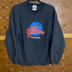 Planet Hollywood Orlando Vintage 90s Sweatshirt